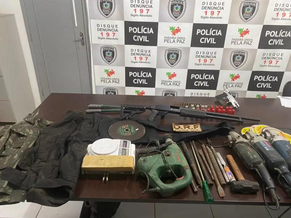POLICIA CIVIL FAZ OPERAÇÃO NO SERTÃO CONTRA CRIMES DE ESTOUROS A BANCOS