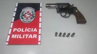 PM cumpre mandado de prisão e apreende arma de fogo na cidade de Lagoa-PB