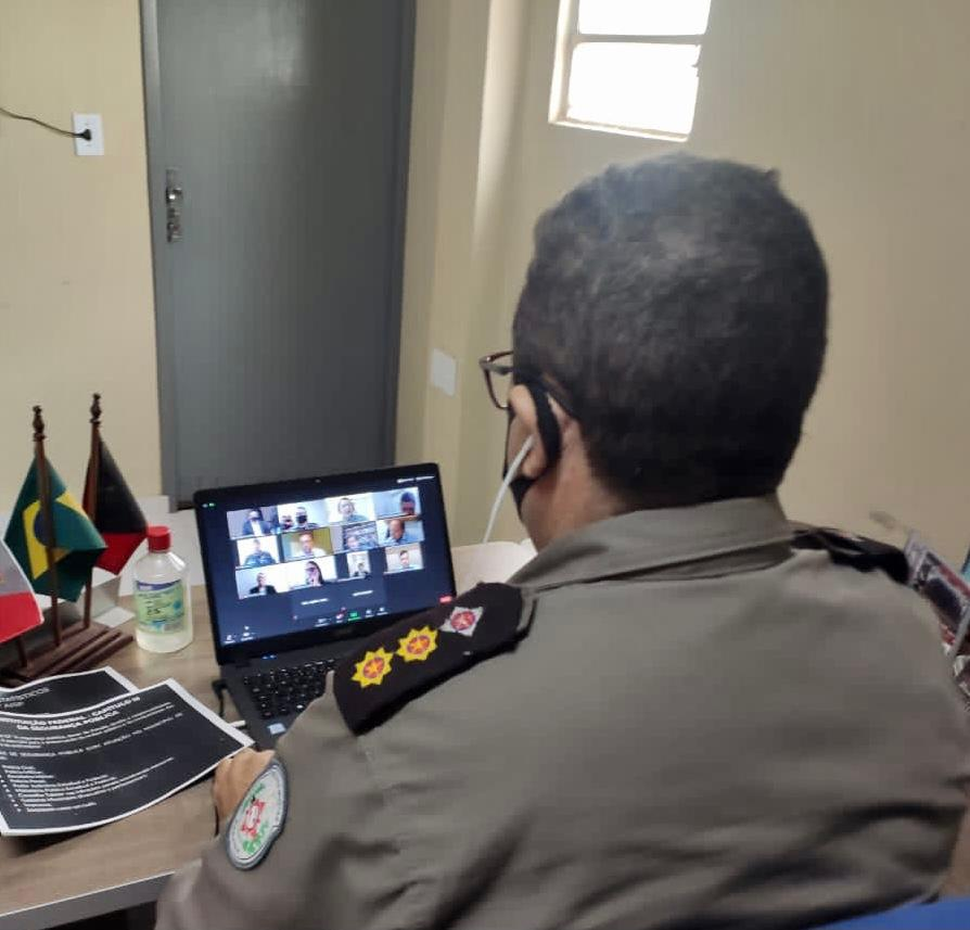 POLÍCIA MILITAR PARTICIPA DE AUDIÊNCIA PÚBLICA VIRTUAL PROMOVIDA PELA CÂMARA MUNICIPAL DE SOUSA