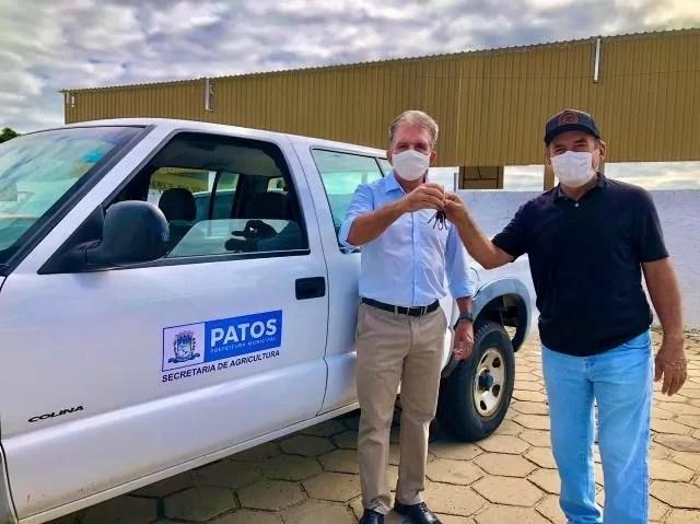 Prefeitura de Patos entrega veículos às secretarias para dá suporte aos trabalhos