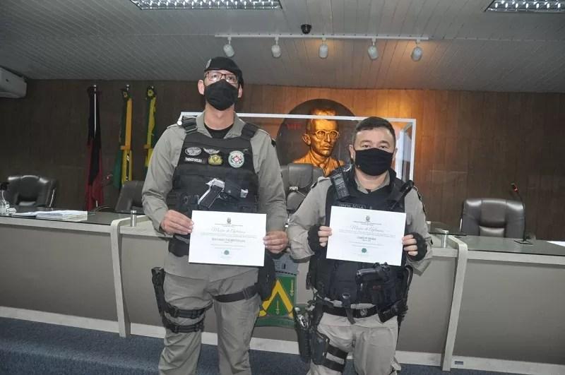 Policial catoleense Cb R. Vieira é mais uma vez homenageado pela Câmara Municipal de Campina Grande