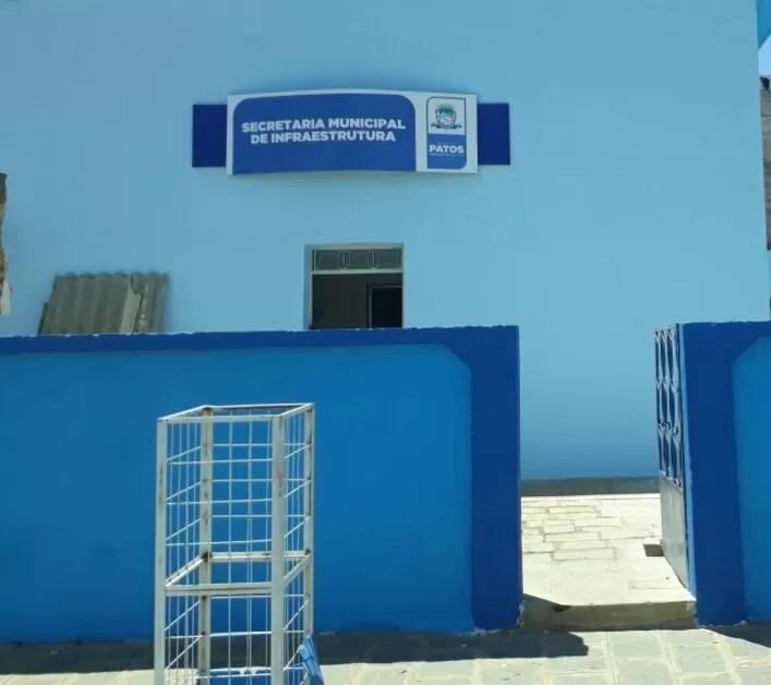 Prefeitura de Patos realiza inspeção em locais que receberão importantes serviços