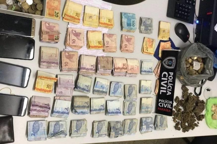 Polícia Civil prende homem pela segunda vez em dois anos por tráfico de drogas em Cabedelo