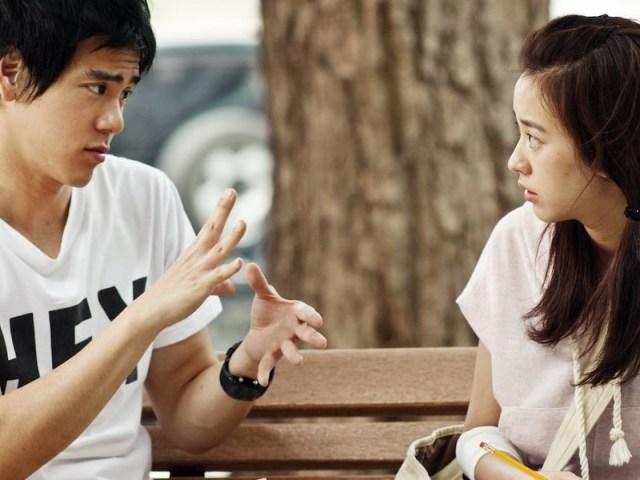 jika dia adalah perempuan yang ga suka ngambek tanpa alasan, berarti dia sudah matang untuk kamu ajak menikah tuh. gambar via: www.keepo.me