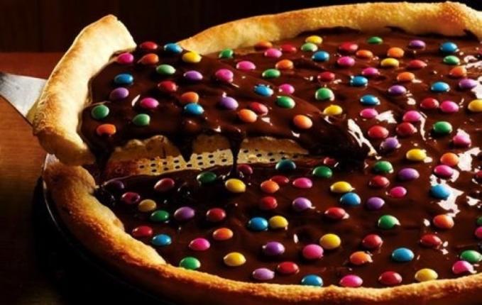 Pizza Toping Coklat