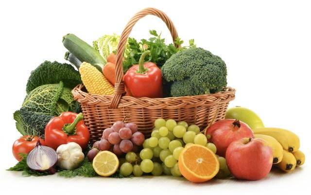 Awet muda dengan konsumsi sayur dan buah