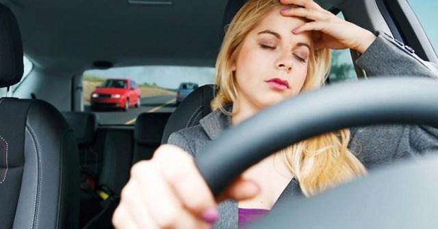 Mengantuk menyebabkan kecelakaan lalu lintas