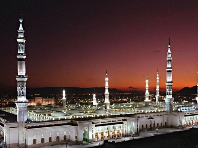gambar via: Madinah Al Munawwarah (The Glorious City)