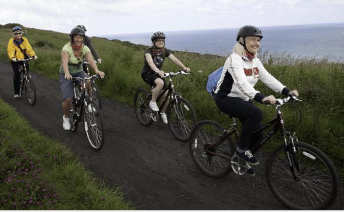 olahraga mengecilkan perut dengan bersepeda