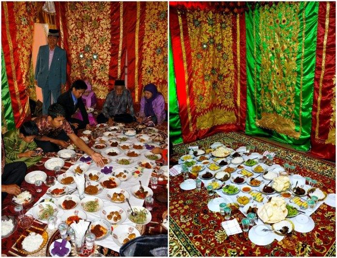 Jamuan Makanan Pernikahan