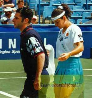 1994 US Open Arantxa Sanchez-Vicario