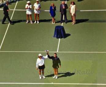 1995 US Open Doubles Champions Gigi Fernandez & Natasha Zvereva
