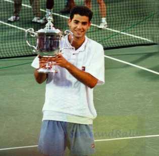 1995 US Open Champion Pete Sampras