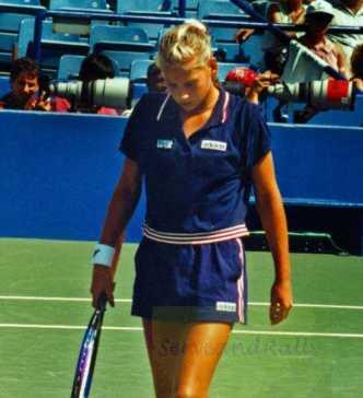1996 US Open Anna Kournikova