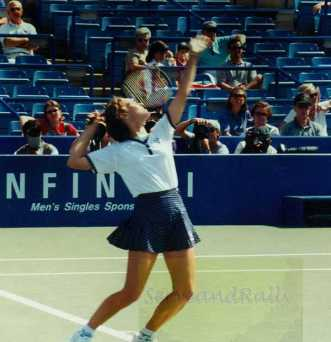 1996 US Open Martina Hingis