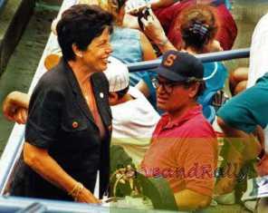 1997 US Open A. Sanchez-Vicario's Mom