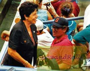 1997 US Open A. Sanchez-Vicario's Mom