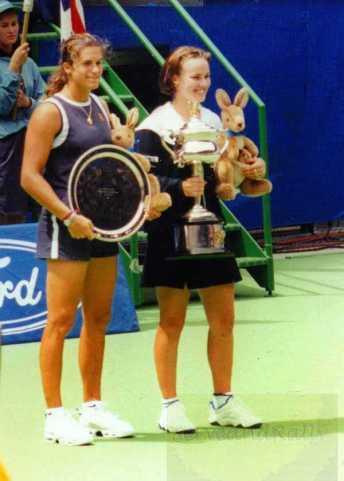 1999 Australian Open Final M. Hingis def. A. Mauresmo
