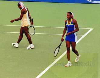 1999 Australian Open Serena and Venus