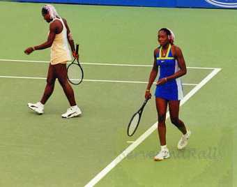1999 Australian Open Serena and Venus