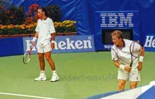 1999 Australian Open Doubles Final Patrick Rafter & Jonas Bjorkman