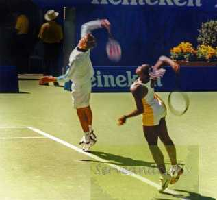 1999 Australian Open Serena Williams and Max Mirnyi