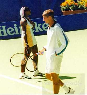 1999 Australian Open Final Serena Williams & Max Mirnyi