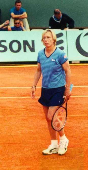 2000 Roland Garros Martina Navratilova