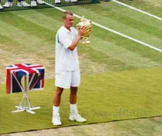 2002 Wimbledon Men's Final Lleyton Hewitt