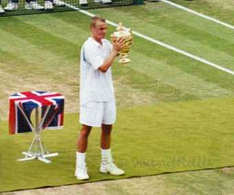 2002 Wimbledon Men's Final Lleyton Hewitt