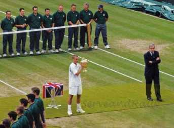 2002 Wimbledon Final Lleyton Hewitt def. David NalbandianA