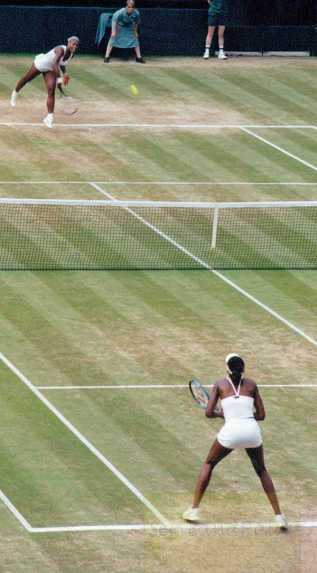 2002 Wimbledon Women's Final Serena vs. Venus