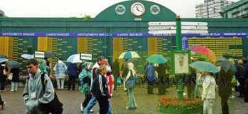 2002 Wimbledon Schedule