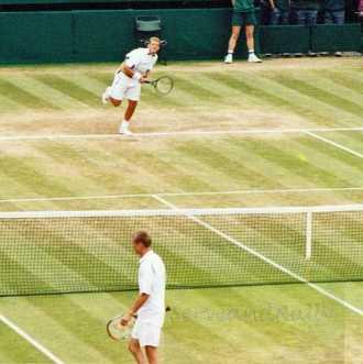 2002 Wimbledon David Nalbandian vs. Lleyton Hewitt