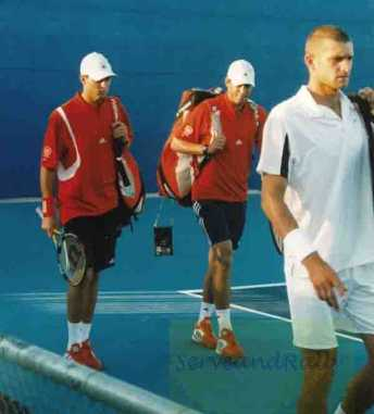 2004 Olympics Bryan Brothers & Max Miryni