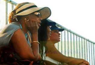 2004 Olympics Oracene Price, Venus and Zena Garrison