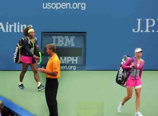 2012 US Open Serena and Andrea Hlavackova