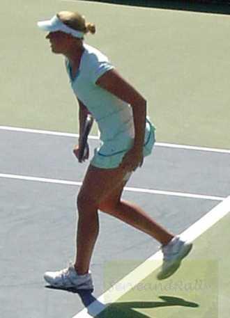 2010 US Open Kaia Kanepi