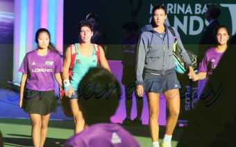 Suarez and Muguruza