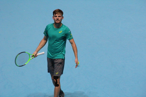 Goffin an his knee injury