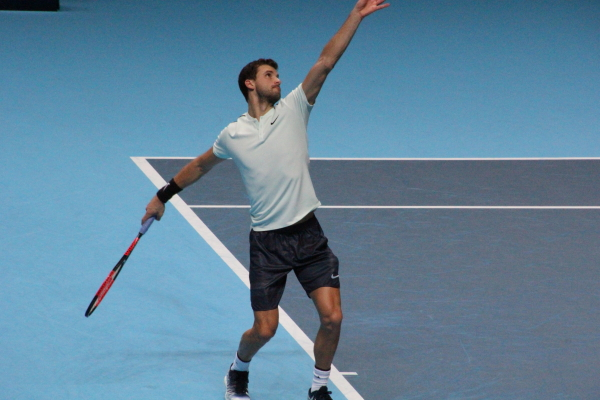 Dimitrov pushed by Millman