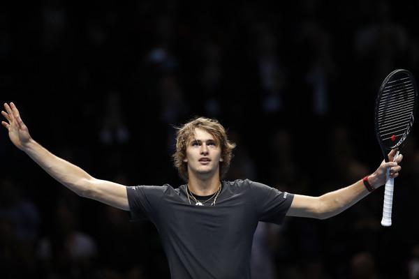Zverev Federer Djokovic