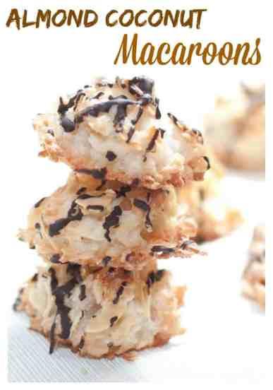 Almond Coconut Macaroons