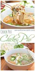 Let your Crock Pot do all the work to create this classic Vietnamese Chicken Pho at home, From Scratch!