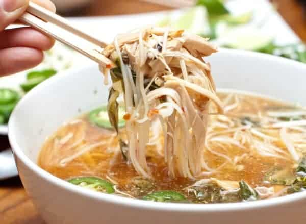 Chicken Pho in your crock pot!
