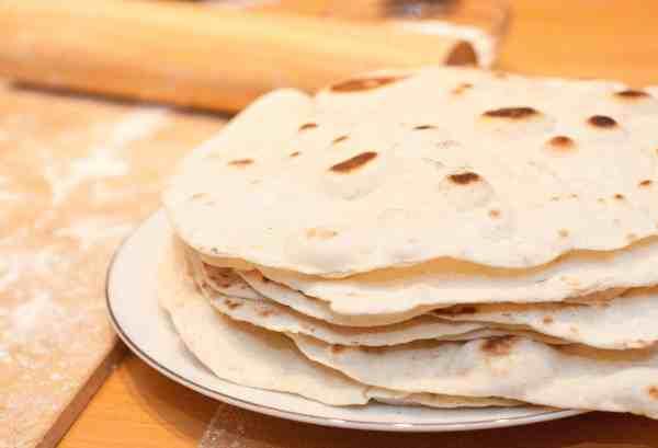 From Scratch flour tortillas