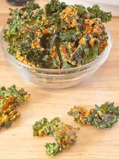 sun dried tomato kale chips