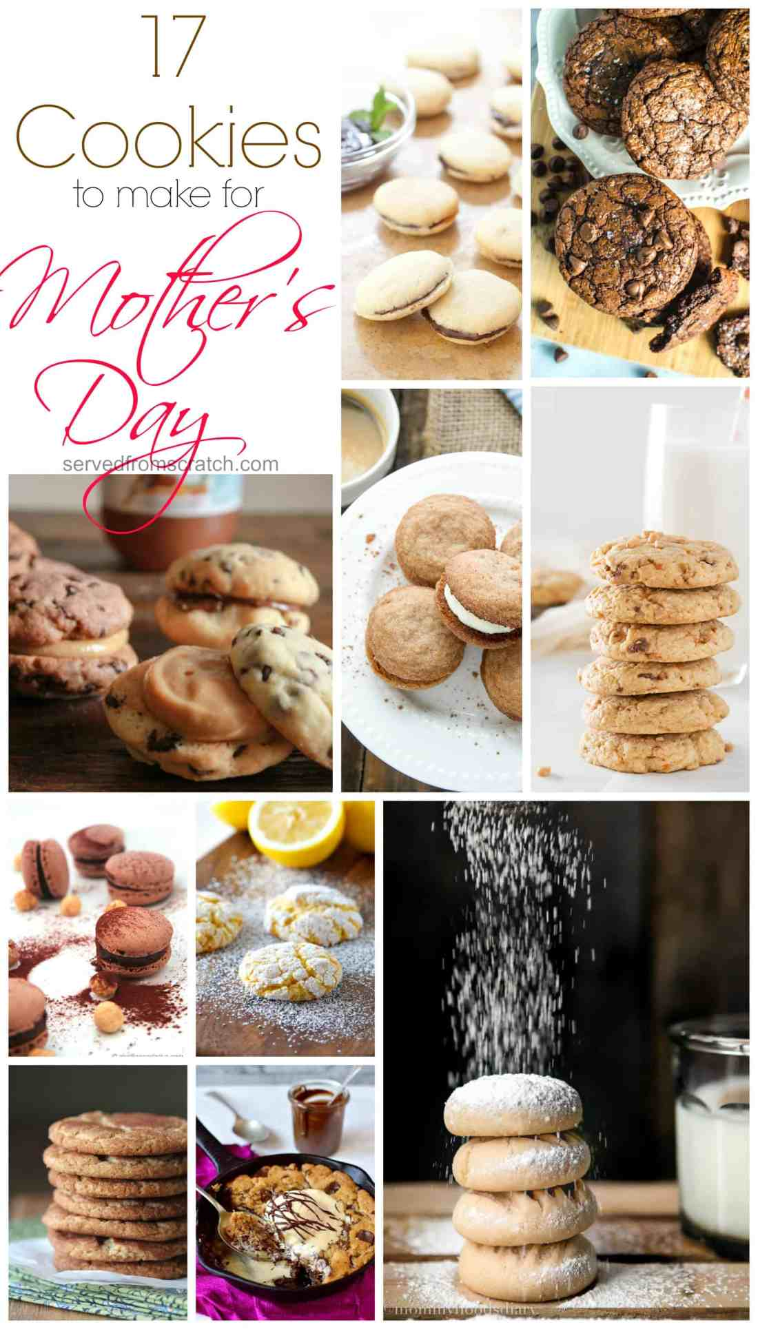 Treat your mama right on Mother's Day with any of these amazing cookies!