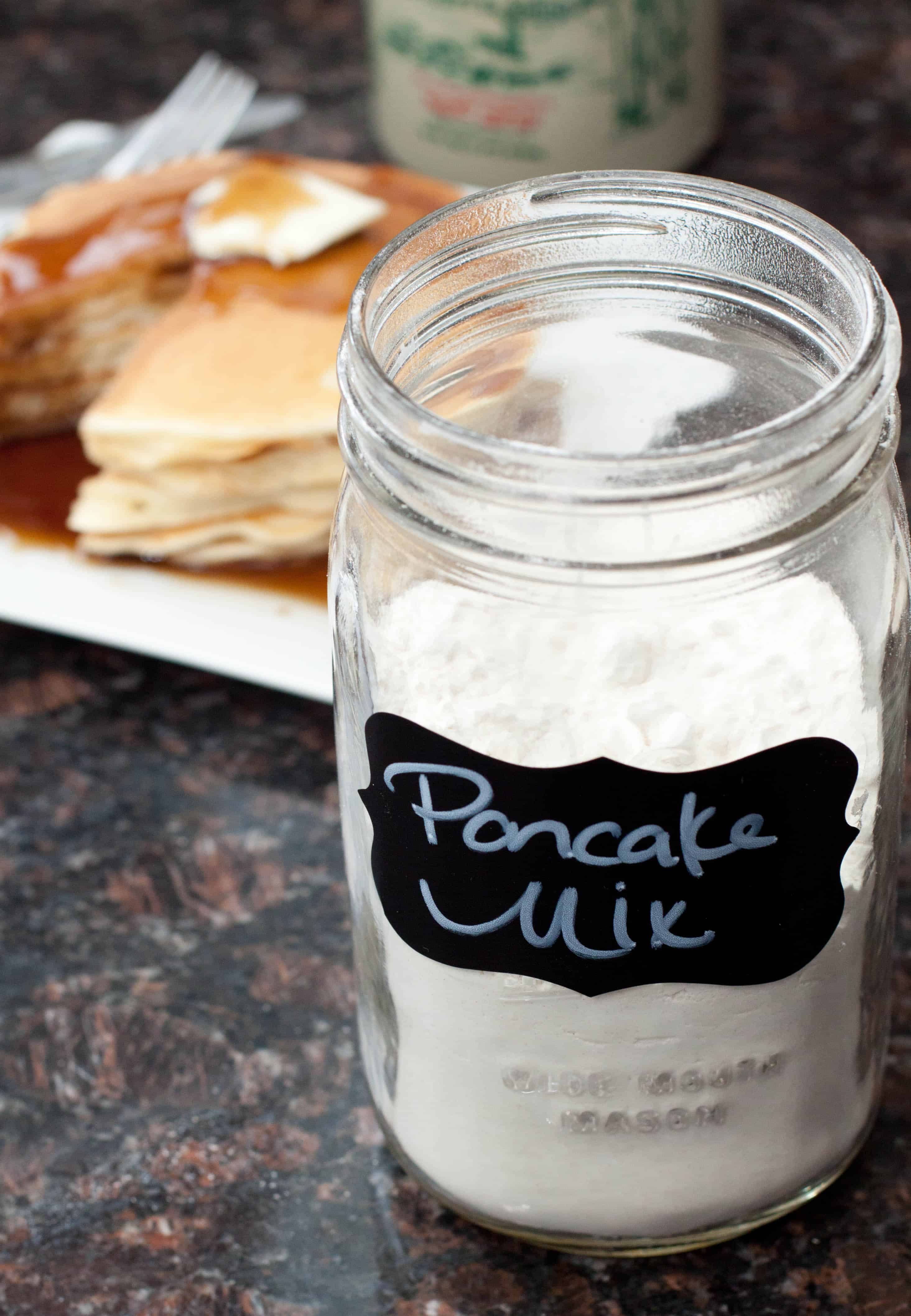 Homemade Pancake Mix From Scratch Served From Scratch