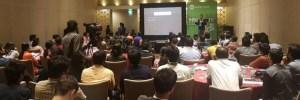 Srinivasu speaking at UX India 2016